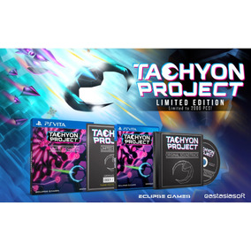 Tachyon Proyect Limited Edition - Ps Vita