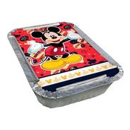Kit Marmitinha Tema Mickey Clássico 8 Unidades