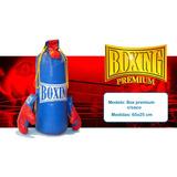 Bolsa Saco De Boxeo Con Guantes Para Chicos De Juguete Med
