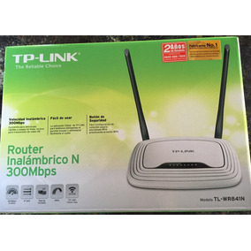 Router Inalambrico N 300mbps Tp-link Modelo Tl-wr841n