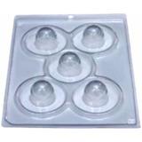 5 Kits De Forma Silicone* Bwb 5 Lug+4 Kits Papel Para Trufas