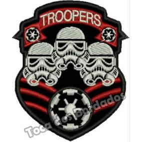 Patch Bordado Clone Troopers Star Wars Tam. 9x7,5cm Gms65