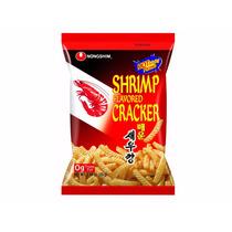 Shrimp Cracker Hot Frituras De Camarón Picantes Coreanas 75g
