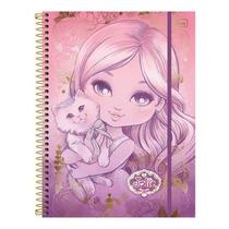 Caderno Universitário 5 Matérias Jolie Top Digi 160 Folhas