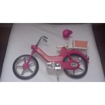Mobilete Moto Star Da Barbie Anos 80 - Estrela