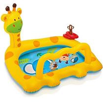 Piscina Inflável Girafa Divertida 53l Infantil Praia 7892-9