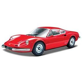 Juguete Ferrari 246 Gtb Dino Rojo 1/24 Por Bburago