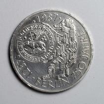 Rara Moeda Prata Da Alemanha Comemorativa 10 Marcos 1987