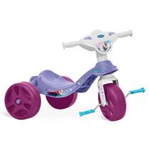 Triciclo Velotrol Infantil Menina Bebê Frozen Bandeirante