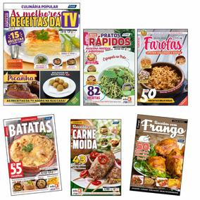 Kit De Revistas Com Receitas Fáceis Para O Dia A Dia