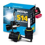 Lâmpada Led Nano Shocklight S14 H1 H3 H7 H11 H16 H27 Hb3 Hb4