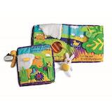 Libro De Actividades De Manhattan Toy Soft Con Juguete Amarr