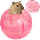Esfera Bola De Ejercicio Para Mascota Hamster Rosa Q1025