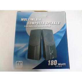 Cornetas Multimedia Computer Speaker True Audio 180 Watt