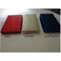 #28caja De Carton Metalico,bisutería Regalo, ,14x14x5cm $ 8