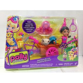 Muñeca Polly Pocket! Fiesta En Bicicleta! Mattel Nuevo Cjl51