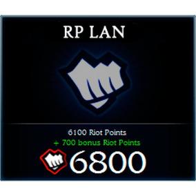 6800rp League Of Leguends Servidor Lan