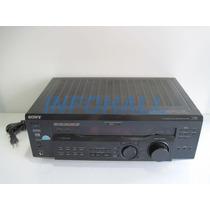 Receiver Sony Str-se501 Com Defeito Ler Anúncio