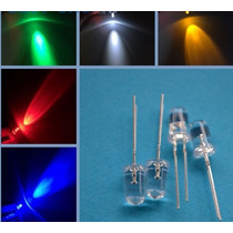 Kit 50x Led 5mm Auto Brilho Coloridos 5 Cores - Arduino Pic