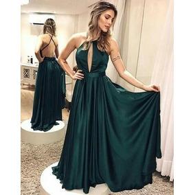 Vestidos elegantes largos espalda descubierta