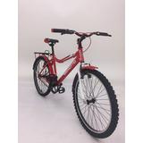 Bicicleta Benotto Strega Rodada 24 Roja