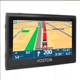 Gps Foston Fs-3d463dt 4.3 Tv Aviso De Radar + Atualização