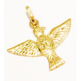 Pomba Ouro 18k - Pingentes de Ouro no Mercado Livre Brasil 0c2176e2b7