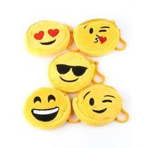 Monedero Pack X12 Emoticon Plush Importado Super Oferta!