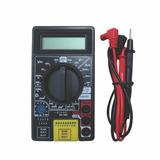 Multímetro Digital Ehc C/testador De Cabos: Rj11,rj12,rj45