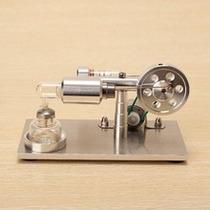 Máquina - Motor Stirling Con Generador De Electricidad