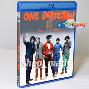 One Direction 1d Itunes Festival 1 Blu-ray Región A, B, C