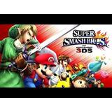 Juegos Digitales 3ds Super Smash Bros 3ds Español Cotyoferta