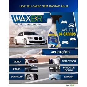 Waxbr - Lavagem A Seco De Veículos Com Cera Frete Grátis 6un