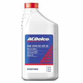 Óleo De Motor 20w50 Api Sl Mineral Acdelco Gm 93307462