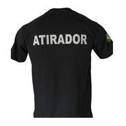 Camiseta Atirador Desportivo Cac Exercito Brasileiro