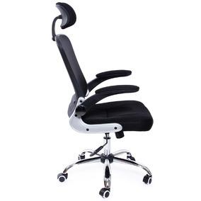 Cadeira Diretor New York Preta - Dinypr-0313