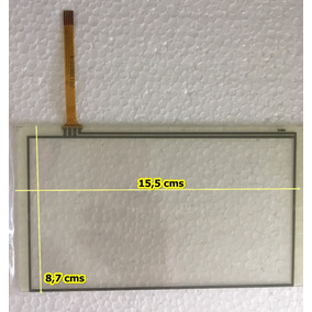 Mica Tactil Pantalla Repro Carro Cyberlux (15,5 X 8,6 Cms)