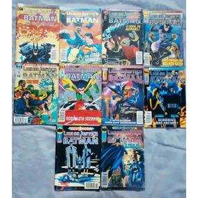 Liga Da Justiça E Batman Hq. 10 Hqs