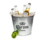 Frapera Cerveza Corona Original Palermo! Balde Hielera Chapa