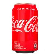 Coca Cola Lata 354ml Original Gaseosa Pack X6 Latas