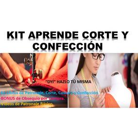 Kit Patrones Corte Y Confección Costura 61 Ebook + Video