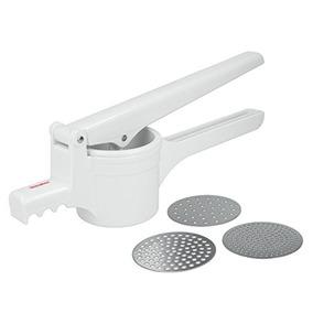 Espremedor De Batata De Plástico Pressy Metaltex Branco - 56