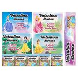 Etiquetas Escolares Personalizadas Princesas Disney