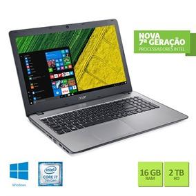 Notebook Acer Intel Core I7 7ª Geracao 16gb Ram 2tb Hd Nvidi