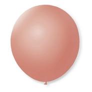 Balão De Festa Latex 9'' 23cm - Rosê - 50 Unidades - São Roq