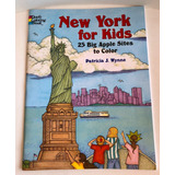 New York For Kids Book Libro Colorear Turismo Wynne Huebert