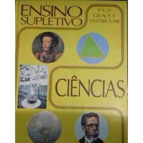 Ensino Supletivo -ciencias- 1º E 2º Grau Livraria Iracema