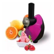 Máquina Sorvete Yofruit Eterny Rosa 110v 150w Gelateira
