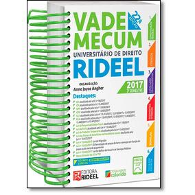 Vade Mecum Universitário De Direito Rideel - 2017