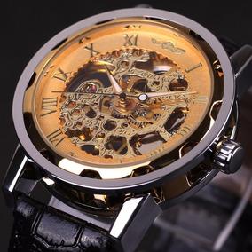 Reloj Winner Mecanico Automatico Cristal Mineral
